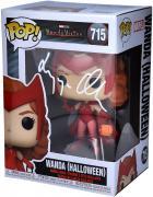 Elizabeth Olsen Scarlet Witch Autographed #715 Funko Pop!