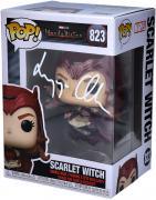 Elizabeth Olsen Scarlet Witch Autographed #823 Funko Pop!