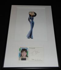 Elizabeth Pena Signed Framed 12x18 Photo Display The Incredibles