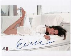 Elizabeth Reaser Signed 8X10 Photo Autograph Twilight Sexy on Bed GV706635