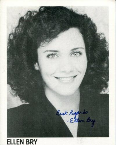 Ellen Bry St. Elsewhere Amazing Spider-Man Star Trek TNG Signed Autograph Photo