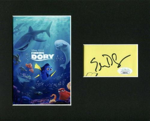 Ellen Degeneres Finding Dory Nemo Disney Pixa Signed Autograph Photo Display JSA