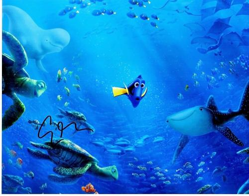 Ellen Degeneres Signed - Autographed Finding Dory - Finding Nemo 11x14 inch Photo - Guaranteed to pass BAS