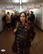 Ellen Page Juno Signed 11X14 Photo Autographed PSA/DNA #U59042