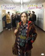 Ellen Page Signed 16x20 Photo From Juno Inception Jsa Certified F48366