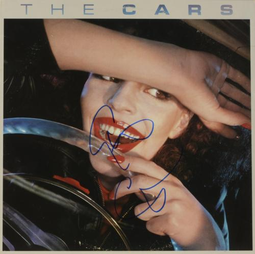 Elliot Easton Autographed The Cars Album Cover - PSA/DNA COA
