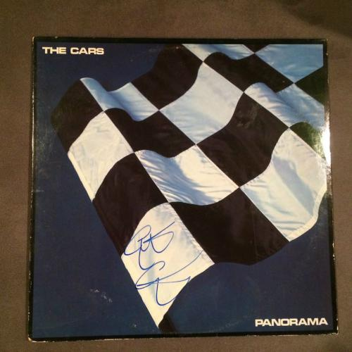 Elliot Easton Signed Autographed The Cars Panorama Vinyl Record Album