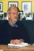Elmore Leonard Justified Western Mystery Author Signed Autograph Photo