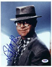 "Elton John Autographed 8""x 10"" Wearing Hat Photograph -  PSA/DNA COA"