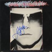 Elton John Autographed Victim of Love Album Cover - PSA/DNA COA