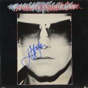 Elton John Autographed Victim of Love Album Cover - PSA/DNA COA