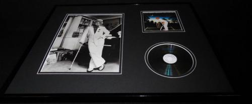 Elton John Framed 16x20 Greatest Hits CD & Photo Display
