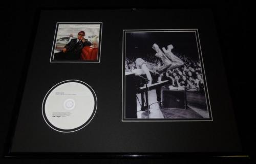 Elton John Framed 16x20 Songs From the West Coast CD & Photo Display