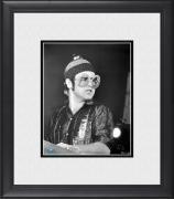 "Elton John Framed 8"" x 10"" Performing in Big Glasses Photograph"
