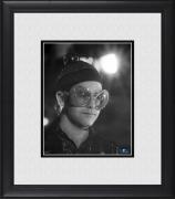 """Elton John Framed 8"""" x 10"""" Wearing Sparkle Glasses Photograph"""