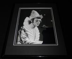 Elton John Framed 8x10 Photo Poster