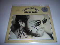 Elton John Honky Chateau W/coa Signed Lp Record Album