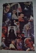 Elton John Music Legend 1975 John Reed Original Authentic Poster Great Color
