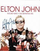 Elton John Music Legend Signed Autographed 8x10 Photo W/coa Authentic Rare A