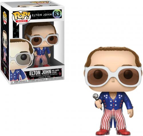 Elton John Red White & Blue #63 Funko Pop!