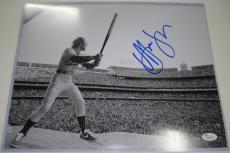 Elton John Shea Stadium New York Mets Hand Signed/Autographed 11 x 14 Photo - JSA #M46545