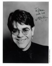 "ELTON JOHN Signed 8x10 Color Photo ""To Steven With Love"" JSA"