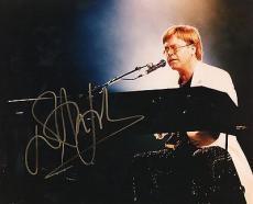 Elton John Signed 8x10 Photo JSA COA (James Spence) Autograph #E51665 Rocket Man
