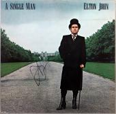 Elton John Signed A Single Man Album Cover Autographed JSA #X26422