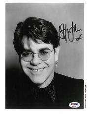 Elton John Signed Authentic Autographed 8x10 Photo PSA/DNA #AB25181
