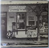 Elton John Signed Authentic Autographed Album Cover w/ Vinyl PSA/DNA #AB16204