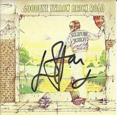 Elton John Signed Autographed Goodbye Yellow Brick Road CD Boocklet JSA COA
