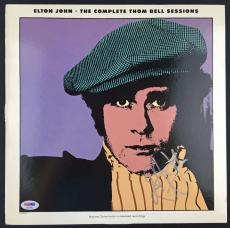 Elton John Signed Autographed The Complete Thom Bell Sessions Album LP PSA/DNA