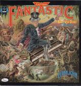 Elton John Signed Captain Fantastic Record Album Jsa Loa Y57044
