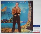 Elton John Signed Caribou Record Album Psa Coa I39016