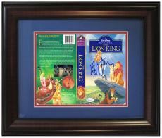 Elton John Signed Framed The Lion King VHS Movie Cover 1/1 Rare Bold Auto JSA