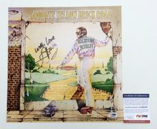 Elton John Signed Goodbye Yellow Brick Road 12x12 Album Cover Photo Psa Aa68538
