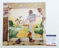 Elton John Signed Goodbye Yellow Brick Road 12x12 Album Cover Photo Psa Aa68539