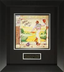 Elton John Signed Goodbye Yellow Brick Road Album Flat Displ
