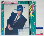 Elton John Signed Jump Up! Record Album Psa Coa J45186