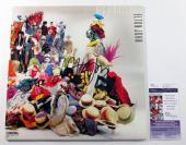 Elton John Signed LP Record Album Reg Strikes Back w/ JSA AUTO