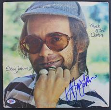 Elton John Signed 'Rock Of The Westies' Album Cover PSA/DNA #AB81127