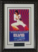 Elvis on Tour Framed 11x17 Publicity Movie Poster