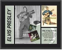 PRESLEY, ELVIS (1956) SUBLIMATED Photo PLAQUE (10x13 BOARD)