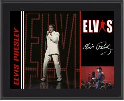 PRESLEY, ELVIS (1968 SPECIAL) SUBLIMATED Photo PLAQUE(10x13 BOARD)