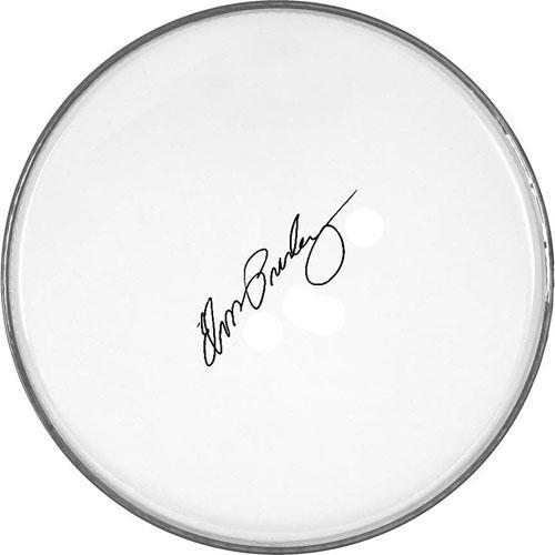 Elvis Presley Autographed Facsimile Signed Clear Drumhead