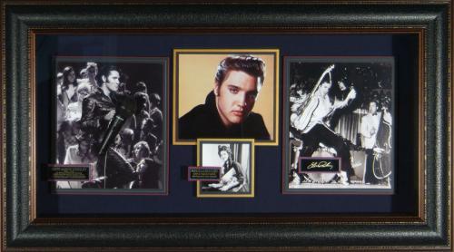 Elvis Presley Laser Engraved Signature Display