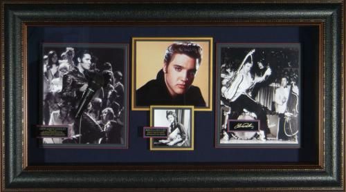 Elvis Presley Laser Engraved Signature Display