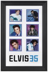 Elvis Presley Framed 35th Anniversary Collage-Limited Edition of 2012