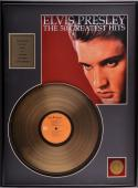 Elvis Presley Gold Record - Framed
