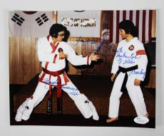 Elvis Presley Karate Instructor Kang Rhee Signed & Inscribed 8×10 Photo – COA JSA